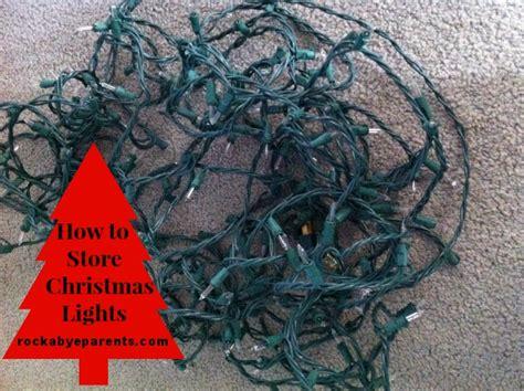 how to store christmas lights rockabyeparents com