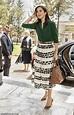 Denmark's Princess Mary sports Max Mara skirt and Ralph ...