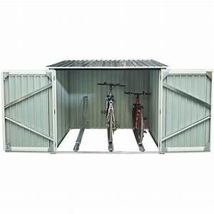 Gartenhaus Metall Anthrazit : fahrradgarage aus metall 3 fahrr der 3 32m verankerungskit x metal ~ Eleganceandgraceweddings.com Haus und Dekorationen
