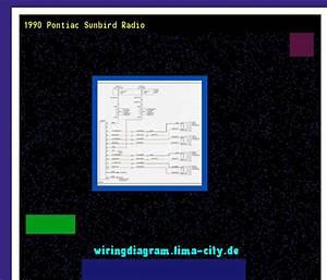 1990 Pontiac Sunbird Radio  Wiring Diagram 18254