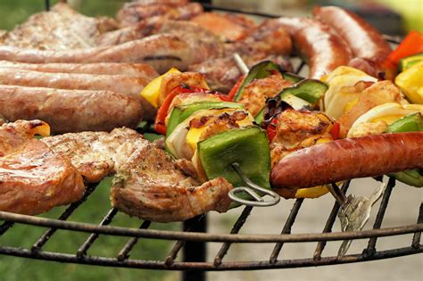 barbecue cuisine free images summer dish cooking barbeque garden