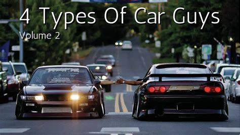 4 Types Of Car Guys V2 (hd)