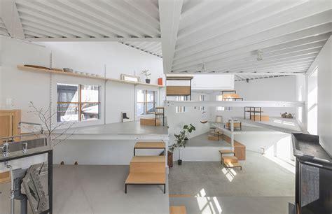 tato architects designs house  miyamoto   single room