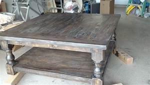 ana white pretty massive coffee table diy projects With massive coffee table