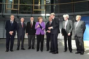 Statements for G7 summit handed to Chancellor Angela Merkel