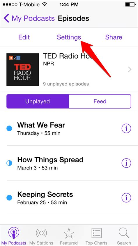 how to make a podcast on iphone how to stop syncing podcast episodes