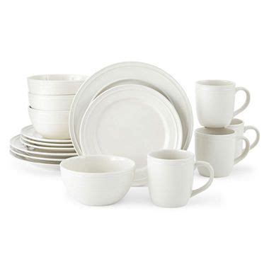 jcpenneycom jcpenney home stoneware  pc dinnerware
