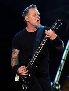 James Hetfield in The Big 4 - Metallica. Slayer. Megadeth ...