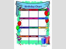 4 Birthday Charts Freeology