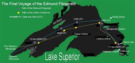 what year did the edmund fitzgerald sank click here to add your thoughts thinglink