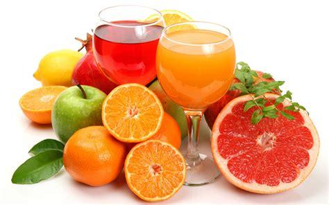 fruit juices fruits background beverage