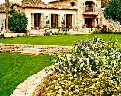 fotos de jardin fotos casas de campo modernas