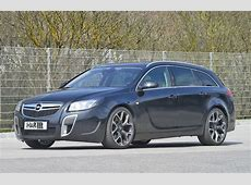 H&R Lowers the Opel Insignia OPC Sports Tourer autoevolution