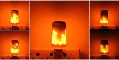 Fire Flame Led Bulb Effect Lamp Halloween