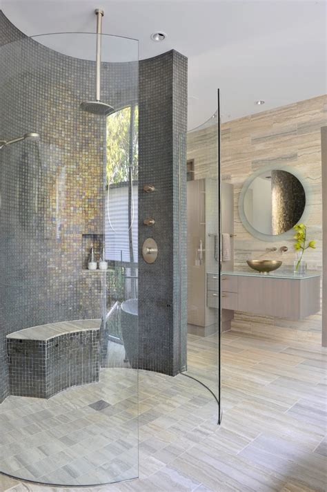 Modern Shower - bathroom with shower varies from modern to vintage homesfeed