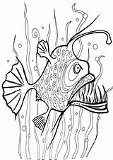 Seaweed Coloring Pages Print sketch template