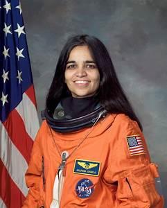 File:Kalpana Chawla, NASA photo portrait in orange suit ...