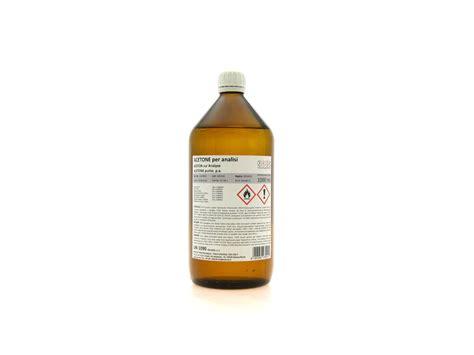 Acetone puro per analisi (C3H6O) min 99 5% vendita
