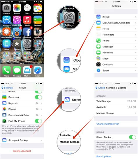 documents and data on iphone how to free up icloud storage space by deleting