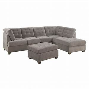 Small reclining sectional sofas smileydotus for Small sectional sofa used