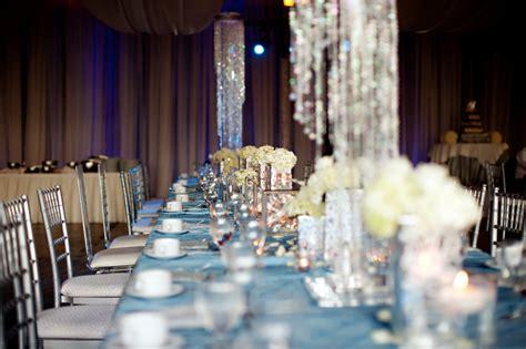 elegant spring wedding with blue silver ivory wedding