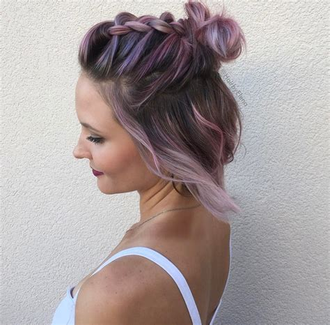 30 swanky braided hairstyles to do on short hair
