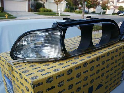 bmw e39 non celis light removal lens cover relacement
