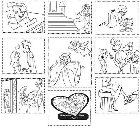 cinderella activities for preschool color the cinderella moment pictures retelling and the 918