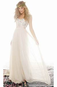 needle thread crystal petal maxi dress in natural lyst With needle and thread robe