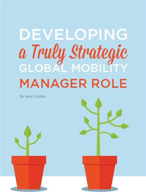 Developing A Truly Strategic Global Mobility Manager Role