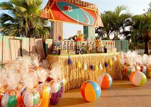 Kara's Party Ideas Disney's Teen Beach Movie Themed ...