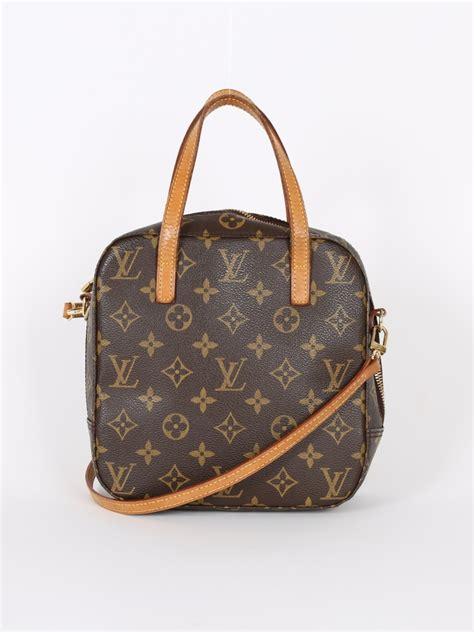 louis vuitton spontini monogram cosmetic bag luxury bags