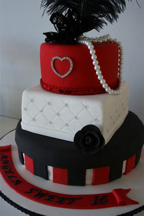 Coffee cake with an expresso swiss meringue buttercream and just a dash of tia maria! Baked By Design: Custom Designed Sweet 16th Birthday Cake ...