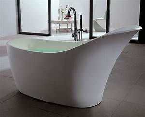 ma salle de bain design osez la baignoire ilot en solid With salle de bain baignoire ilot