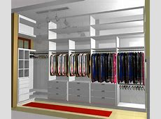 small u shaped walk in closet design Roselawnlutheran
