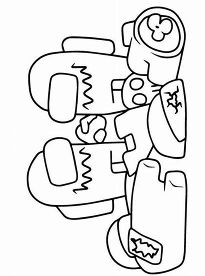 Among Coloring Fun Pages