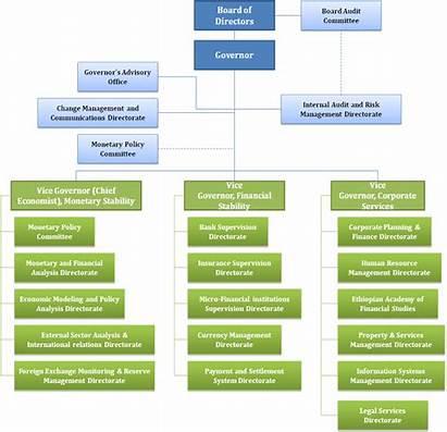 Structure Organizational Bank National