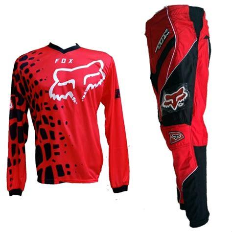 Harga Celana Trail Murah jual grosir murah jersey merah celana hitam trail cross