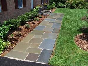 Flagstone Walkway | Professional Stone Work, Silver Spring ...
