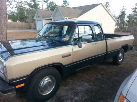 how things work cars 1993 dodge d250 club navigation system buy used 1993 dodge diesel 2500 d250 club cab 5 9l 12v cummins in maple hill north carolina