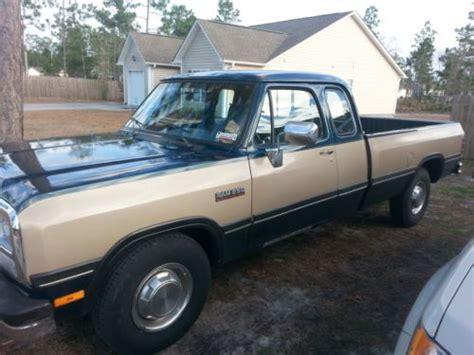 how to fix cars 1993 dodge d250 club parental controls buy used 1993 dodge diesel 2500 d250 club cab 5 9l 12v cummins in maple hill north carolina