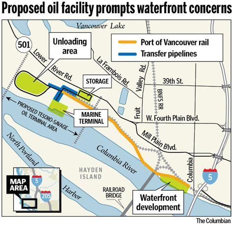 vancouver waterfront developer slams oil terminal plan