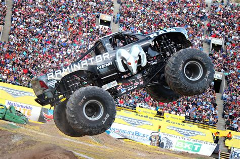Monster Jam Vancouver 2017 Action Packed Live Event On