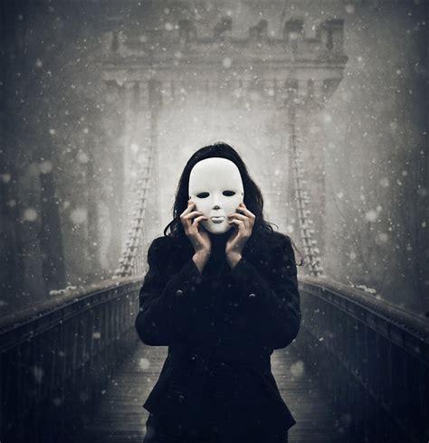 Dark, Deviantart, Mask, Photography, Snow  Image #140818