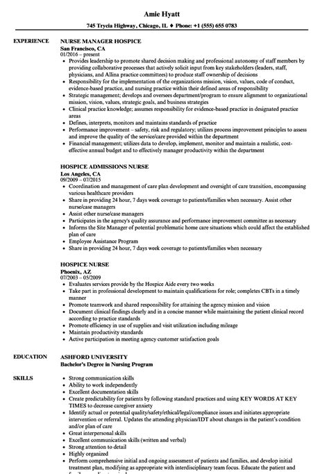 hospice nurse resume louiesportsmouthcom