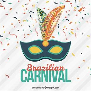 Brazilian carnival background Vector | Free Download