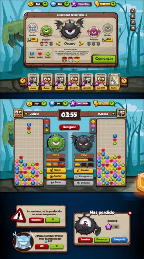 ui design examples  mobile games web graphic