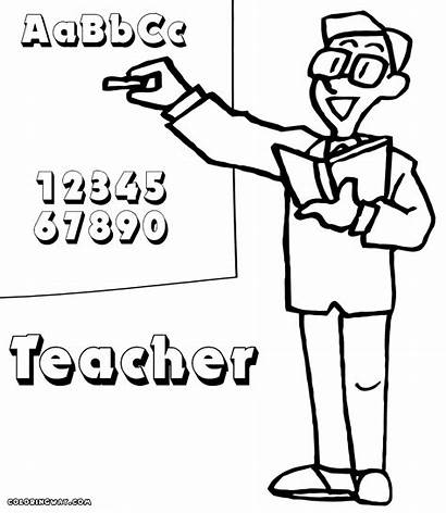 Teacher Coloring Pages Colorings