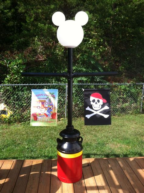 mickey lamp post disney camping pinterest lamps