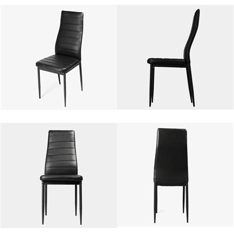 lot 6 chaises noires lot 6 chaises noires reverba com
